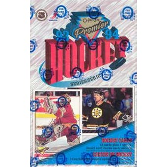 1993/94 O-Pee-Chee Premier Series 1 Hockey Hobby Box