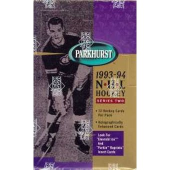 1993/94 Parkhurst Series 2 Hockey Hobby Box