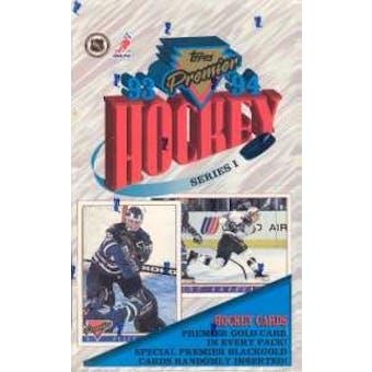 1993/94 Topps Premier Series 1 Hockey Hobby Box