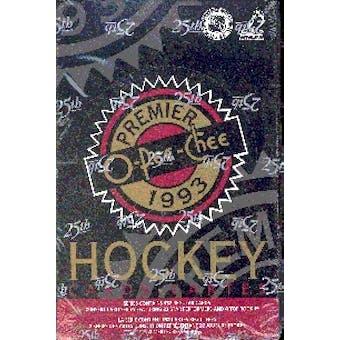 1992/93 O-Pee-Chee Premier Hockey Hobby Box