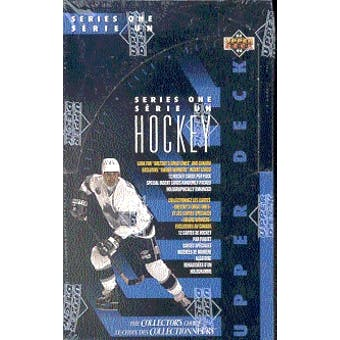 1993/94 Upper Deck Series 1 Hockey Hobby Box