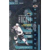 1993/94 Upper Deck Series 2 Hockey Hobby Box (Reed Buy)
