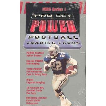 1993 Pro Set Power Football Hobby Box