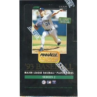 1993 Pinnacle Series 2 Baseball Jumbo Box