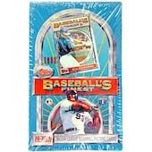 1993 Topps Finest Baseball Hobby Box (Reed Buy)