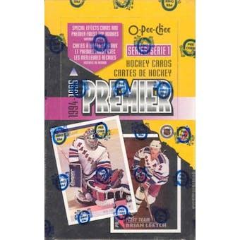 1994/95 O-Pee-Chee Premier Series 1 Hockey Hobby Box