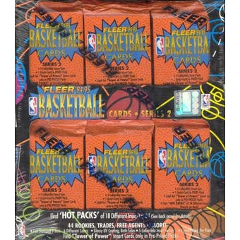 1994/95 Fleer Series 2 Basketball Jumbo Box