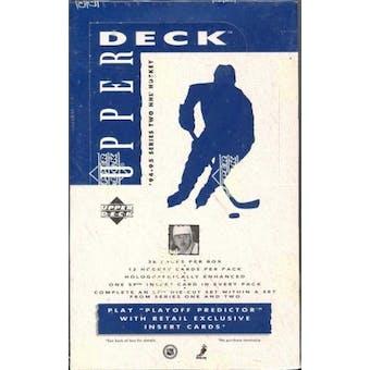 1994/95 Upper Deck Series 2 Hockey Retail Box
