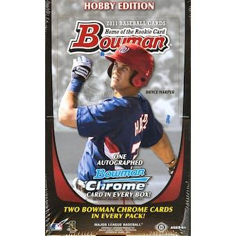 2011 Bowman Baseball Hobby Box