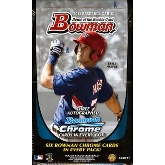 2011 Bowman Baseball Jumbo Box