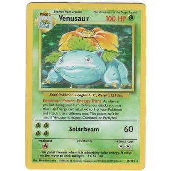Pokemon Base Set 1 Single Venusaur 15/102 - NEAR MINT (NM)