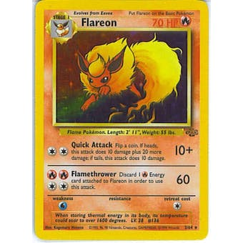 Pokemon Jungle Single Flareon 3/64