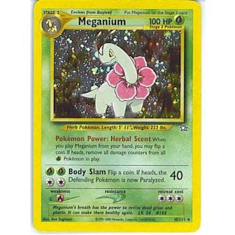 Pokemon Neo Genesis Single Meganium 10/111