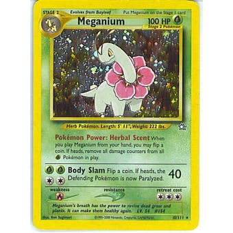 Pokemon Neo Genesis Single Meganium 10/111