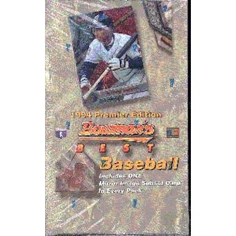 1994 Bowman Best Baseball Hobby Box
