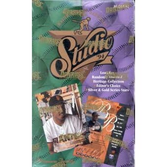 1994 Donruss Studio Baseball Hobby Box