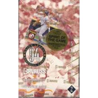 1994 Donruss Series 2 Baseball Hobby Box