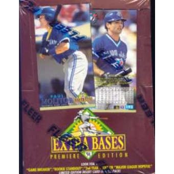1994 Fleer Extra Bases Baseball Hobby Box