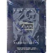 1994 Flair Series 1 Baseball Hobby Box