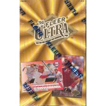 1994 Fleer Ultra Series 1 Baseball Hobby Box