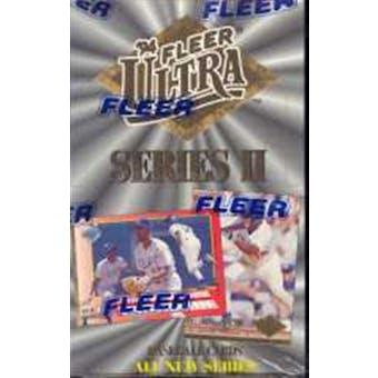 1994 Fleer Ultra Series 2 Baseball Hobby Box