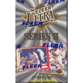 1994 Fleer Ultra Series 2 Baseball Hobby Box