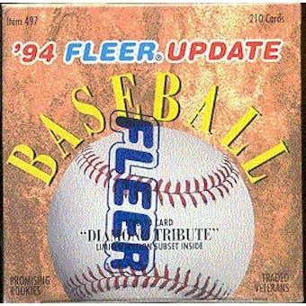 1994 Fleer Update Baseball Factory Set