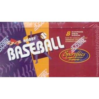 1994 Pinnacle Sportflics Baseball Hobby Box