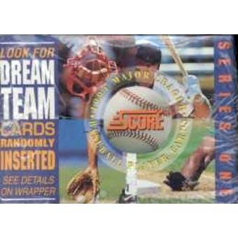 1994 Score Series 1 Baseball Jumbo Box