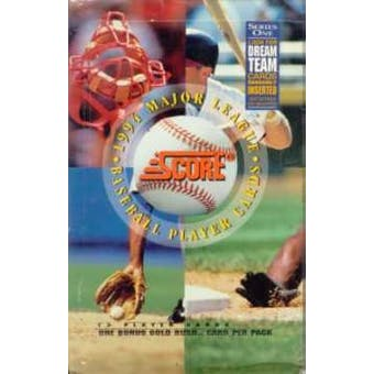1994 Score Series 1 Baseball Retail Box