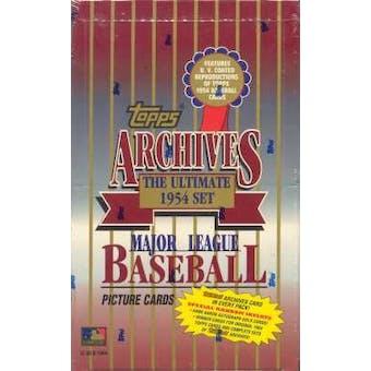 1994 Topps Archives (1954) Baseball Hobby Box