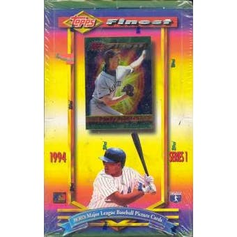 1994 Topps Finest Series 1 Baseball Hobby Box