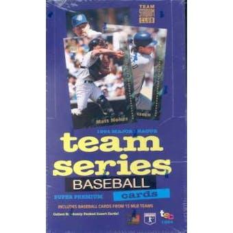 1994 Topps Stadium Club Team Series Baseball Hobby Box