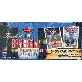1994 Topps Traded & Rookies Baseball Factory Set