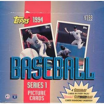 1994 Topps Series 1 Baseball Jumbo Box