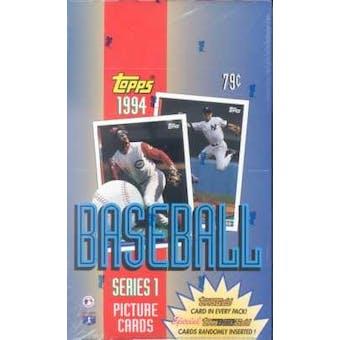 1994 Topps Series 1 Baseball Hobby Box