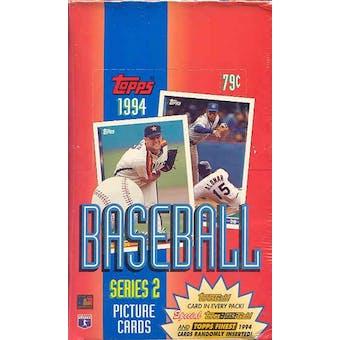 1994 Topps Series 2 Baseball Rack Box