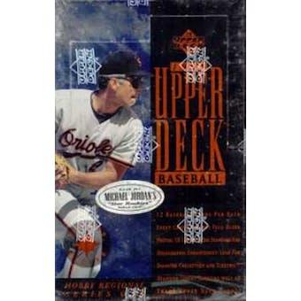 1994 Upper Deck Series 1 Western Baseball Hobby Box