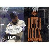 1994 Upper Deck Series 1 Baseball Jumbo Box (Reed Buy)