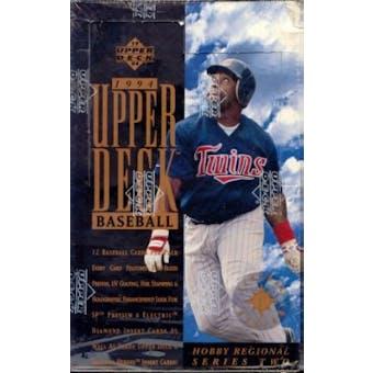 1994 Upper Deck Series 2 Baseball Hobby Box