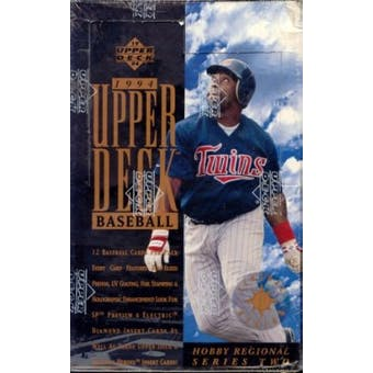 1994 Upper Deck Central Series 2 Baseball Box