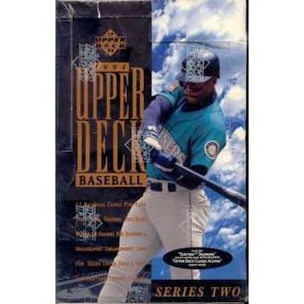 1994 Upper Deck Series 2 Baseball Retail Box