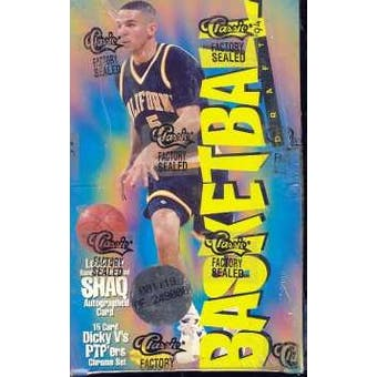 1994/95 Classic Draft Picks And Prospects Basketball Hobby Box