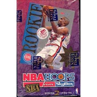 1994/95 Hoops Series 2 Basketball Hobby Box