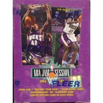 1994/95 Fleer NBA Jam Session Basketball Hobby Box