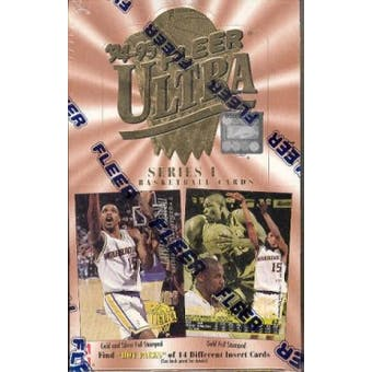 1994/95 Fleer Ultra Series 1 Basketball Hobby Box