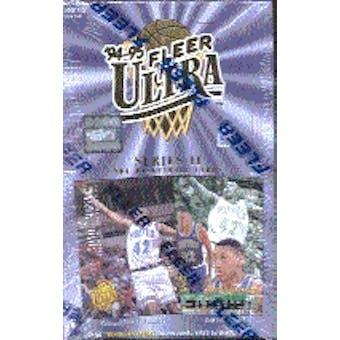 1994/95 Fleer Ultra Series 2 Basketball Hobby Box