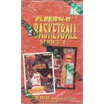 1994/95 Fleer Series 1 Basketball Hobby Box