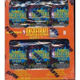 1994/95 Fleer Series 1 Basketball Jumbo Box