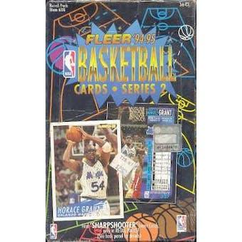1994/95 Fleer Series 2 Basketball Hobby Box